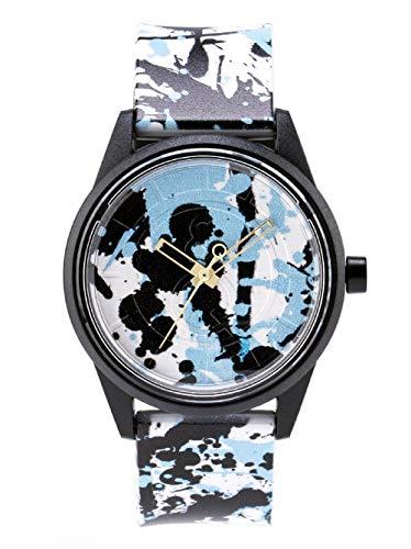 Q & Q Smile Solar Unisex, Eco Freundlicher Armbanduhr by Citizen, 5ATM Wasser widerstehen rp00j022y