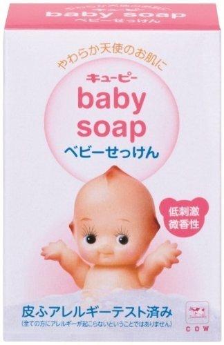 牛乳石鹸 キューピー ベビーせっけん 90g【3個セット】