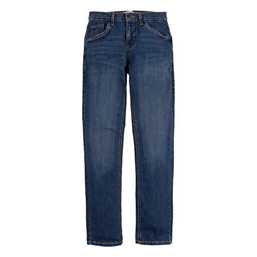 Levi's Boys' Big 511 Slim Fit Performance Jeans, Evans Blue, 12