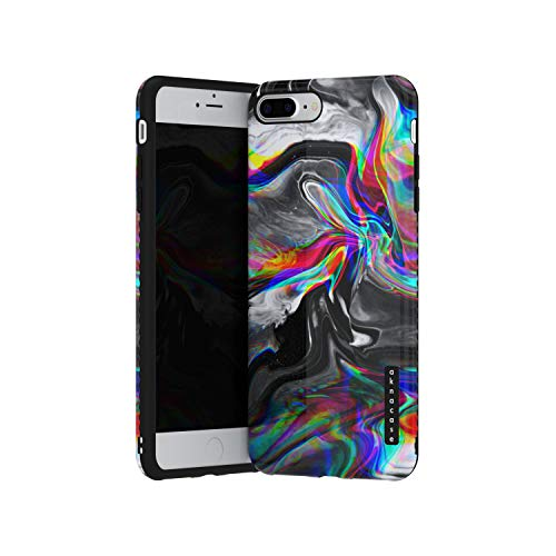 iPhone 8 Plus / 7 Plus case Marble, Akna GripTight Series Flexible Silicon Cover for Both iPhone 7 Plus & 8 Plus (904-U.S)