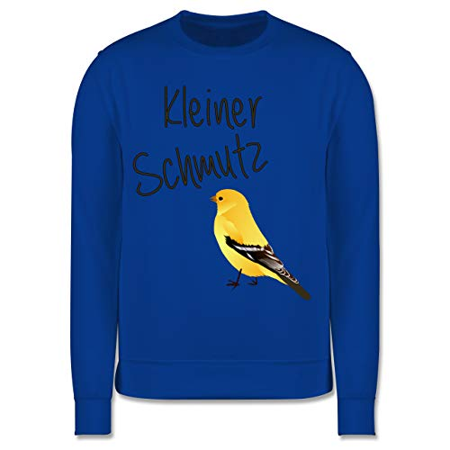 Shirtracer Sprüche Kind - Kleiner Schmutzfink - 152 (12/13 Jahre) - Royalblau - Fun - JH030K - Kinder Pullover