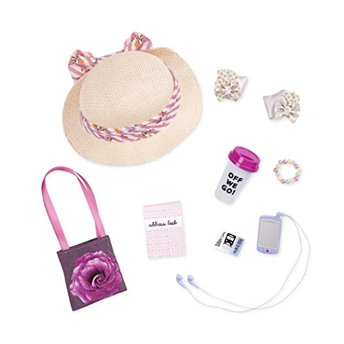 Glitter Girls by Battat - Places To Go Urban Purse & Accessory Set - 14