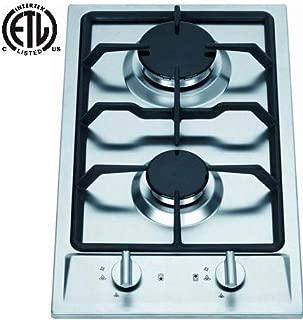 Kenyon B49517 6-1//2-Inch Alpine Single Burner Cooktop with Analog Control UL 120-volt White