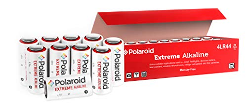 Polaroid Extreme 4LR44 6v Battery 476A PX28A A544 L1325 6 Volt Alkaline Batteries Ideal for Dog Collar Remotes Mercury Free Bulk (20-Pack) - 2025 Expiry Date