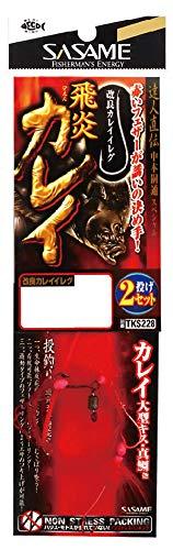 ささめ針 特選達人直伝 飛炎カレイ TKS228 10-3
