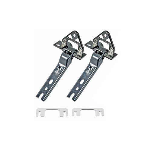 ORIGINAL 2 Stück Bosch Balay Constructa NEFF Siemens 268698 00268698 Scharnier Türscharnier Set Satz Kühlschrankscharnier Scharnierset Kühlschrank Gefrierschrank auch AEG