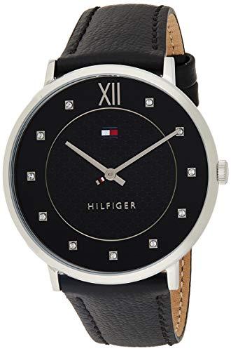 Tommy Hilfiger Herren Datum klassisch Quarz Uhr mit Leder Armband 1781808