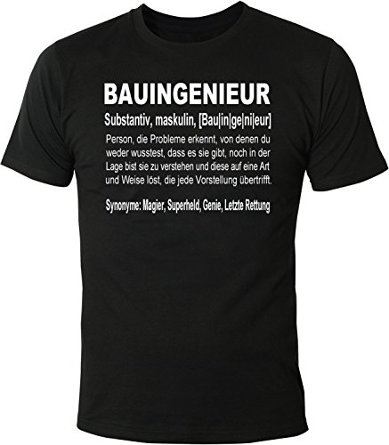 Mister Merchandise heren T-shirt definitie beroep werk thee shirt bedrukt