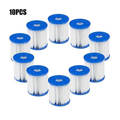 Panthem 2/4/6 pz cartuccia filtro di ricambio pompa per piscina Bestwa-y Easy Set Up Blu