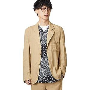 [インプローブス] テーラードジャケット リネン混テーテードジャケット メンズ ベージュ M
