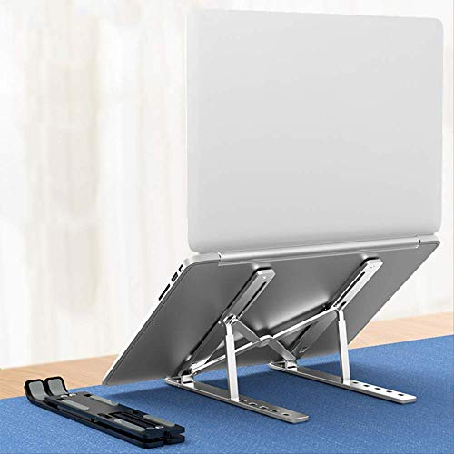 Portable Laptop Stand Adjustable Notebook Stand Holder for MacBook Pro 15 13 12 11 Non-Slip Foldable Computer Cooling Bracket