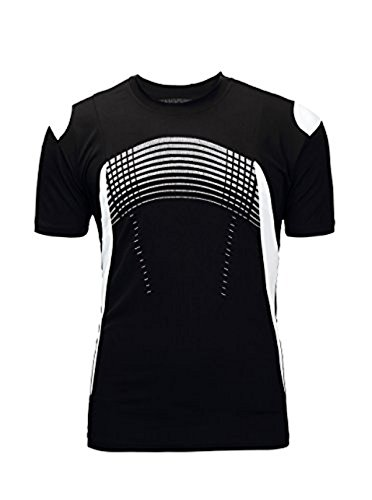 SwissWell Camiseta Hombre Fitness Camiseta Hombre Manga Corta Camisa Deportiva de Secado...