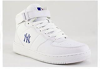 [メジャーリーグベースボール] New York Yankees NY ヤンキーズ お手頃ハイカット スニーカー シューズ メンズ MLB-2011BITTER