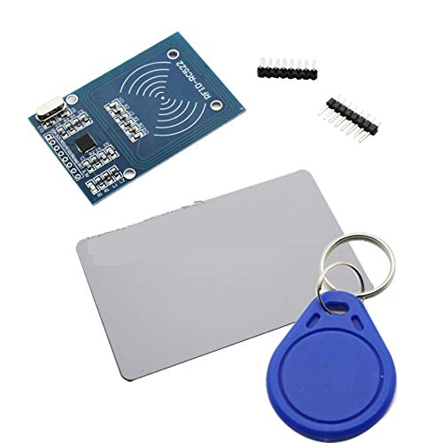 1 Set MFRC-522 RC522 RFID Reader RF IC Card Inductive Module kit RC-522 13.56MHz with S50 Blank Card Writer and Key Ring Board