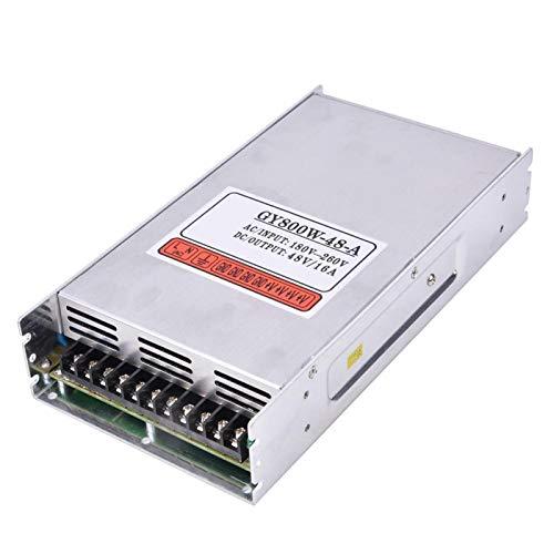 Fuente de alimentación del Interruptor de la máquina de Grabado, Fuente de alimentación conmutada de la confiabilidad 800W-48V 16A para la máquina de Grabado GY800W-48-A