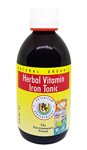 The House of Mistry Natural Organic Herbal Vitamin Iron Tonic