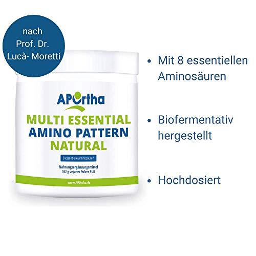 Multi essential Amino Pattern – 8 essentielle Aminosäuren – 500 g veganes Pulver - 6