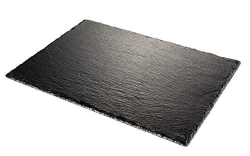 Tescoma Plato De Pizarra Grandchef 30 X 20 Cm, Negro