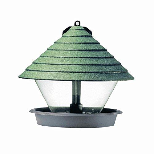 Hammarplast 932544 Vogelfutterhaus 27 cm Kunststoff, rund, grün
