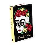 Frida Kahlo A5 Libreta de direcciones Cráneo floral