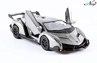 Negi Kinsmart Car 1:36 Lamborghini Veneno Car Open Door Car Metal Car Die-Cast Car Pull Back Car (Colour May Vary & Any One) (Lamborghini veneno)