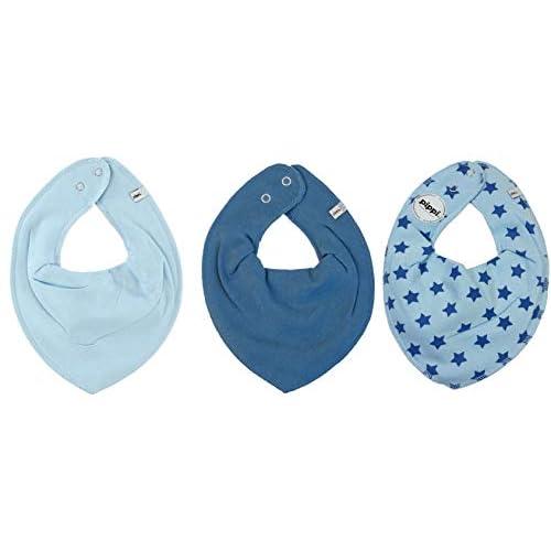 Pippi - Sciarpa da bambina, 0-24 mesi Blu 0-24 Monate