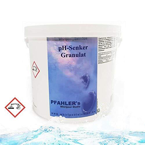 Chemoform. pH Minus Granulat 1,5 kg - 5 kg ph - Senker Regulierung Pool Schwimmbad -Whirlpool (5 KG)