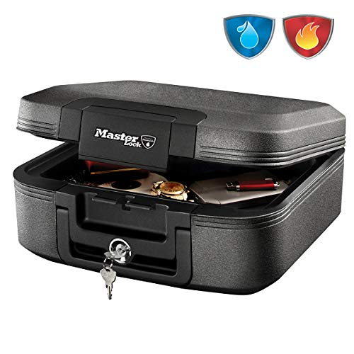 MASTER LOCK Fireproof Security Safe [Fire & Water resistant] [Medium]...