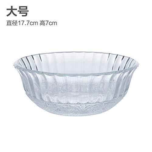 Glasschale Milchschale Reisschale Verschiedene Modelle Reisschale Hitzebeständige Suppenschüssel Haushaltsdessertschale Fruchtsalatschale Frühstücksschale