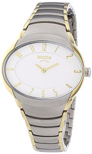 Boccia Damen-Armbanduhr Analog Quarz Titan 3165-11