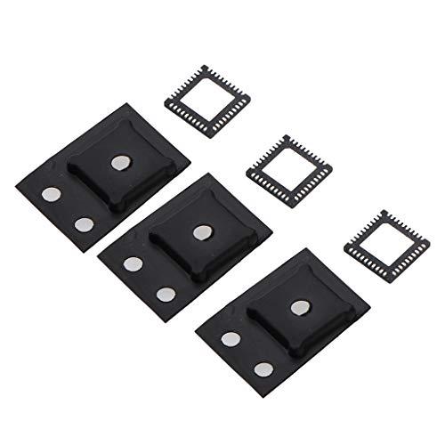 Gazechimp 3X Reemplazo HDMI Control IC Chip para Xbox One Reparación Delgada