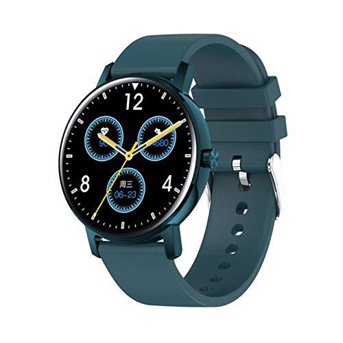 JXFF L01 Smart Watch 2021 - Reloj inteligente para mujer (IP67, con Bluetooth, monitor de frecuencia cardíaca, modo multideportivo, para Android iOS, B