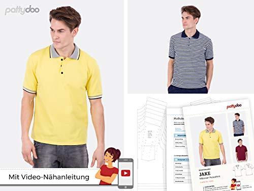 pattydoo Schnittmuster Poloshirt 'Jake'