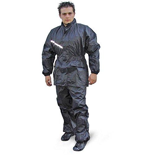 Regenkombi Wasserdicht Motorrad Regenanzug Kombi Anzug Regen Größe S bis XXL (M)