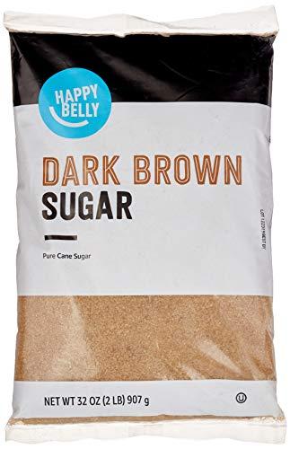 Amazon Brand - Happy Belly Dark Brown Sugar, 2lb