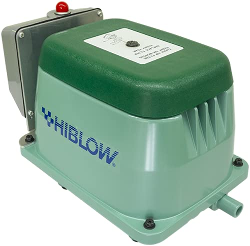 Hiblow HP-80 w/Alarm Septic Air Pump