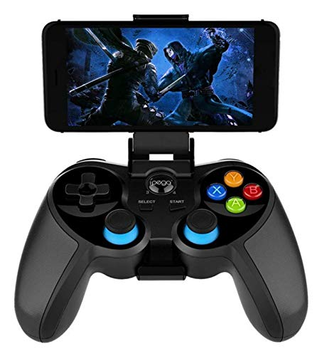 WUTONG Game Controller Wireless Gampepad Game Controller Flexible Joystick with Phone Holder for Android PC TV BoxWireless for Adult Gaming Controller