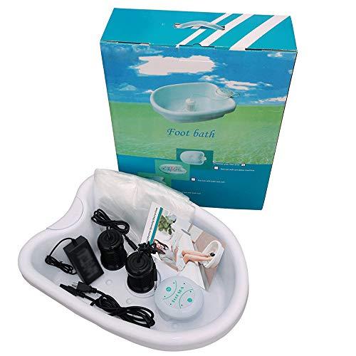 Vitaciti Portable Ionic Detox Foot Bath Spa Machine with Large Tub, Two Arrays, Tub Liners