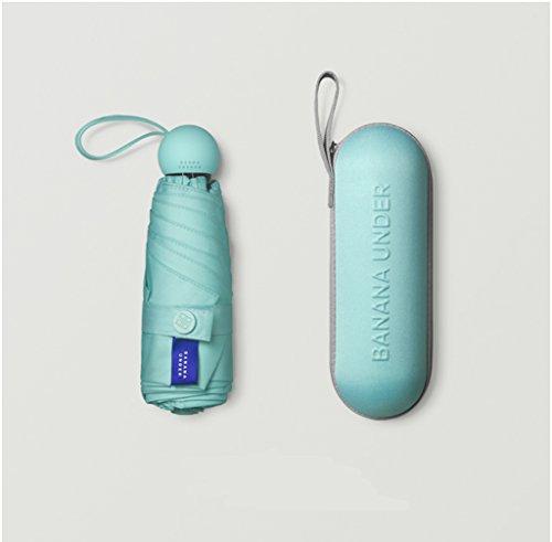 Umbrella Mini Travel Sun Protection Umbrellas - 95% UV-Resistant Compact Umbrellas for Men and Women (Color : #7)