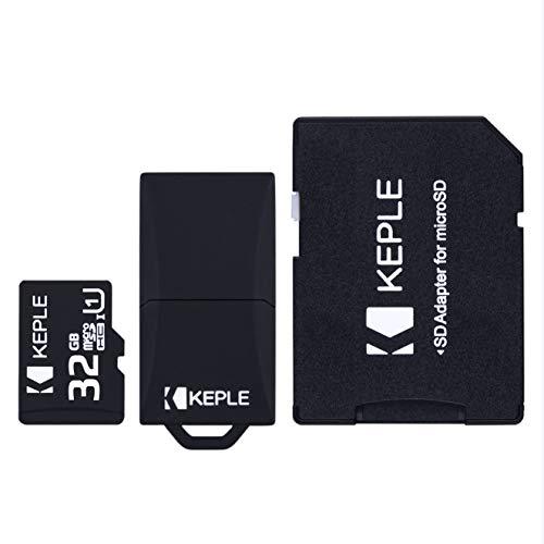 Tarjeta de Memoria Micro SD da 32GB | MicroSD Class 10 Compatible...