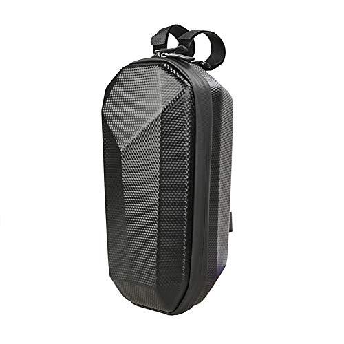JOYSOG Bolsas de almacenamiento para scooter, impermeable, rígidas, para manillar delantero Mijia M365