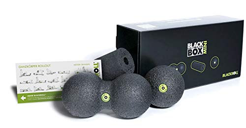 BLACKROLL Unisex– Erwachsene Massagegerät-A001392 Massagegerät, schwarz/grau, 1size