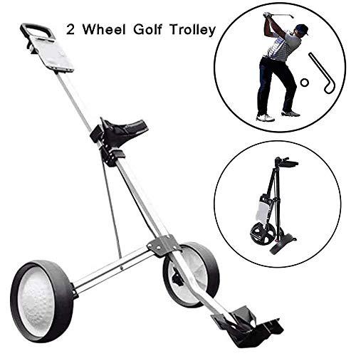 MJLXY Chariot a 2 Roues Chariot de Golf a Pousser a Tirer...