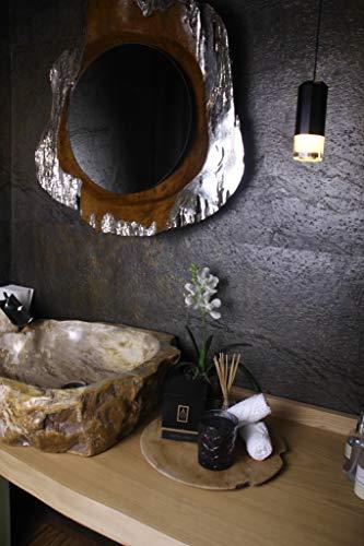 Driada - VIDRO Lounge zwart met acryl London geurkaars/geurkaars, glas, voor geschenken, decoratie en thuis