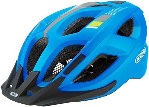 ABUS Aduro 2.0 Stadthelm - Allround-Fahrradhelm in sportivem Design für den Stadtverkehr - für Damen und Herren - 81937 - Blau, Größe L