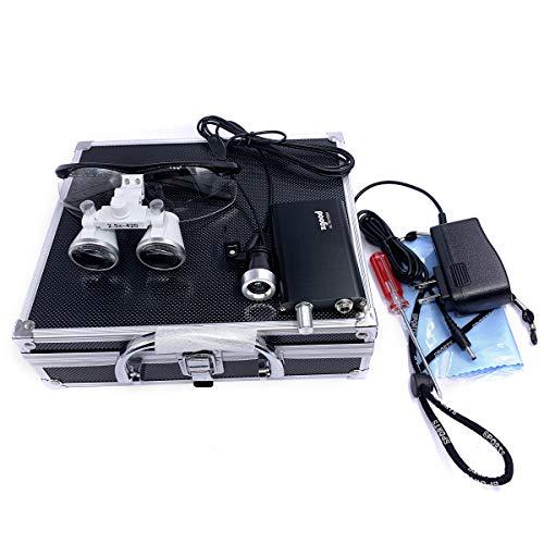 Zgood Portable Surgical Medical Binocular Loupes 2.5×420mm Optical...
