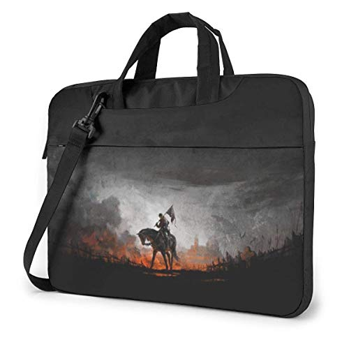 Kingdom Hearts Laptop Bag Tablet Briefcase Portable Protective Case Cover 15.6 inch LAP-4599