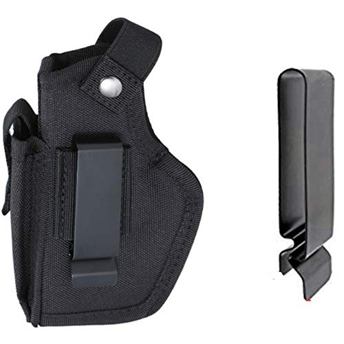 MAPLON Concealed Carry Holster Carry Inside or Outside The Waistband for Right and Left Hand Draw Fits Subcompact to Large Handguns
