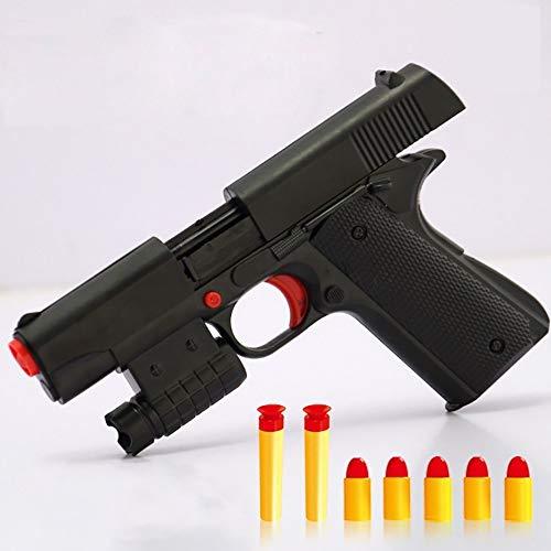 OYJD Pistola de juguete para niños de goma