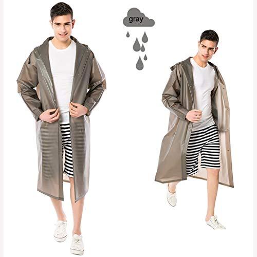 LSLS Raincoat Fashion Raincoat Raincoat Students Raincoat Outdoor Raincoat Single Adult Hiking Raincoat Fashion Street Fashion For Men And Women Long Section Of Transparent Waterproof Poncho Rain Ponc